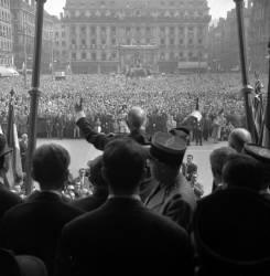 De Gaulle à l'Hôtel de Ville