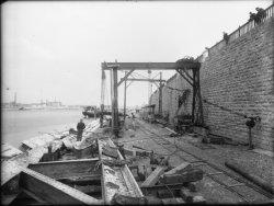 [Plan resserré de la reconstruction du pont de La Mulatière]