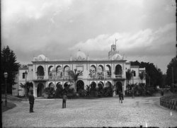 [Exposition Universelle de Lyon (1894) : pavillon de l'Algérie]