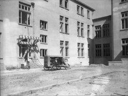 [Construction de l'hôpital Grange-Blanche (Hôpital Edouard-Herriot) (?) : utilisation d'une pompe Worthington]