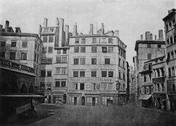 [Grands travaux d'urbanisme du Second Empire : ouverture de la rue de l'Impératrice et rectification de la place de la Fromagerie]