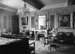[Château de M. Lacroix-Laval : chambre à coucher]