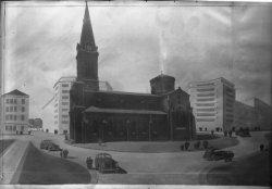 [Eglise paroissiale Saint-Charles de Serin : dessin]