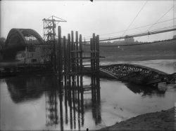 [Reconstruction du pont de la Boucle]