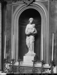 """[Chapelle de l'Hôtel-Dieu de Lyon : Vierge à l'enfant Jésus, dite aussi """"Vierge de Mimerel""""]"""