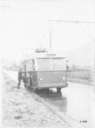 [Matériel électrique SW (Schneider-Westinghouse) : trolleybus, service spécial]