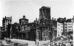 [L'église Saint-Paul, la place Gerson et la construction de la ligne de chemin de fer Lyon-Montbrison]