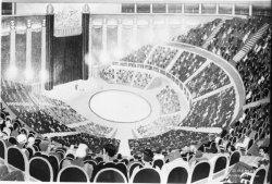 [Projet d'une piste de cirque pour Henry Rancy (?)]