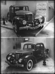 [Exposition de voitures Citroën]
