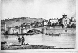 [Vue de Vienne : reproduction d'une lithographie de Joseph Timon]
