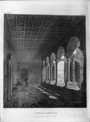 [Cloître de l'abbaye romane Saint-André-le-Bas, à Vienne (Isère)]