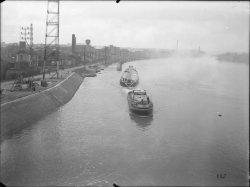 [Compagnie nationale du Rhône (CNR) : construction du port Edouard Herriot]