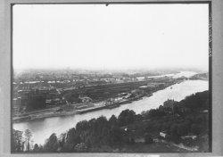 [Confluent du Rhône et de la Saône : le port Rambaud et la presqu'île]
