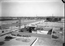 [Compagnie de navigation du Rhône : construction du port Edouard-Herriot]