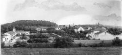 [Vue générale d'un village (dessin)]