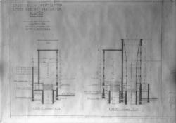 [Station de ventilation située rue de Vaucanson à Lyon (février 1949)]