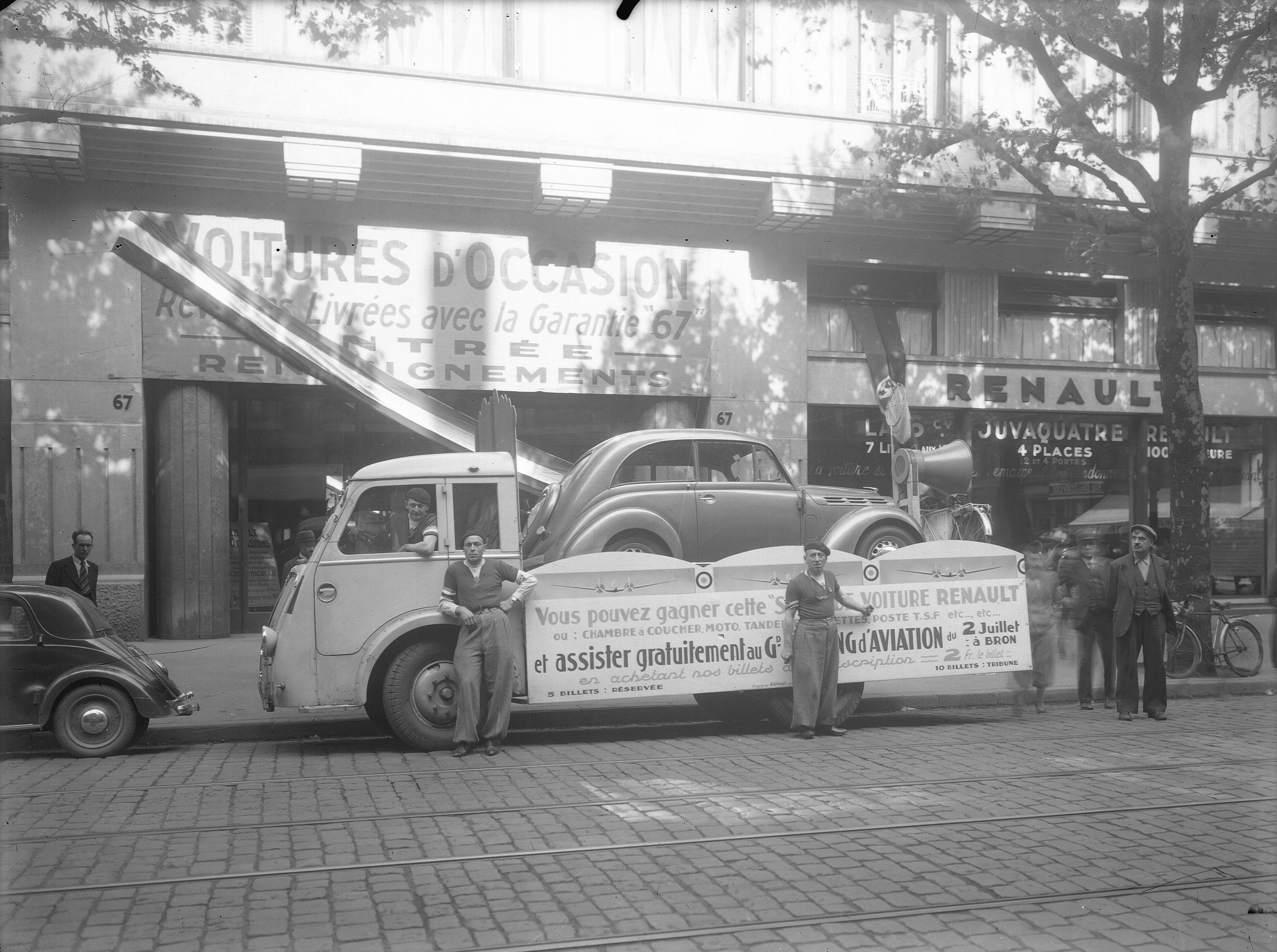 Concessionnaire auto d 39 poque anciennes forum collections - Garage renault sainte foy les lyon ...
