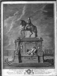[Statue de Louis XIV, place Bellecour]