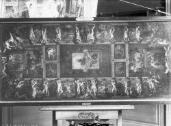 """[Hôtel de ville de Lyon, modello pour """"Le Temple d'Auguste"""", décor de la voûte de la grande salle des Fêtes disparu dans l'incendie du 13 septembre 1674]"""