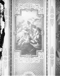 [Hôtel de ville de Lyon. Détail du plafond de la salle du Conseil]