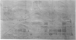 [Plan des terrains de la Presqu'île de Perrache]