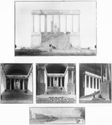 [Grands travaux de la Ville de Lyon. Projet de monument aux morts pour la Croix-Rousse]