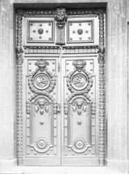 [Hôtel de ville de Lyon. Porte monumentale]