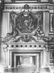 [Hôtel de ville de Lyon. Cheminée du salon du Consulat]