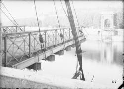 [Destruction des ponts de Lyon par l'armée allemande (1944) : pont Mouton]