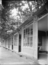 [Foire internationale de Lyon : stand de la Compagnie Générale d'Electricité (C.G.E.)]