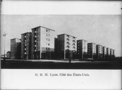 [Cité des Etats-Unis, à Lyon : Habitations à Bon Marché (H.B.M.)]