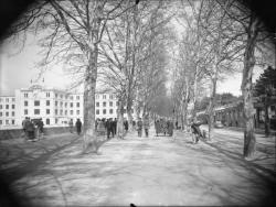 [Foire internationale de Lyon : Palais de la Foire, quai Achille-Lignon, vers 1950]