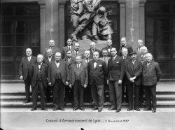 [Conseil d'arrondissement de Lyon, 3 novembre 1937]