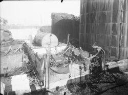[Port Rambaud : les réservoirs d'essence détruits après incendie]