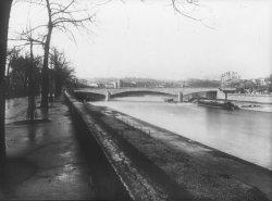 [Ponts et chaussées. Pont Clemenceau à Vaise (?)]