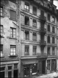 [Immeuble appartenant au Crédit à l'Epargne (Lyon): rue de Sèze]