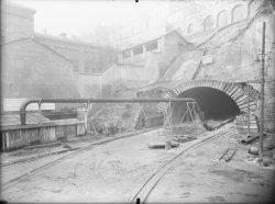 [Aménagement lors de la construction du tunnel de la Croix-Rousse]