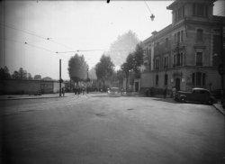 [Accident de voitures sur le boulevard Pinel à la frontière entre Lyon et Bron]