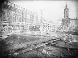 [Construction de l'Hôtel des Postes, Télégraphes et Téléphonies de Lyon (1934-1938)]