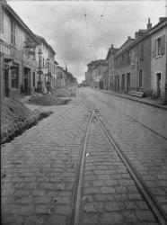 [La rue Jean Jaurès à Villeurbanne. Assurance l'Europe]
