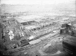 [Construction de l'Hôtel des Postes, Télégraphes et Téléphonies de Lyon (1934-1938) : les fondations, 12 décembre 1935]