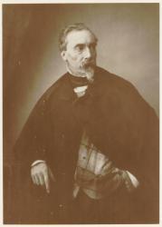 [Portrait du peintre Claude-Alfred-Alexandre du Buisson (1814-1875)]