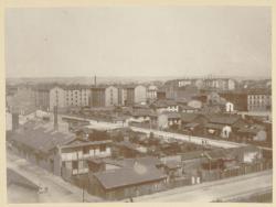 [Le Quartier de l'avenue du Château, à la fin du XIXe siècle]