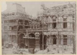 [L'Hôtel de ville de Lyon en réfection, vers 1850-1855]