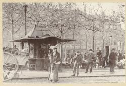 [Le Marché des chiens, place Carnot, au début du XXe siècle]