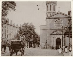 [L'Ancienne église de la Charité, à Bellecour, au début du XXe siècle]