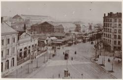 [Les deux gares des Brotteaux, vers 1905]