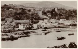 [L'Usine Bonnet-Spazin (construction de bateaux), dans le quartier de l'industrie, à Vaise, au début du XXe siècle]