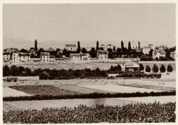 [Le Quartier des Essarts et ses champs, à Bron, au début du XXe siècle]