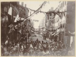 [Le Banquet des enfants, le 15 juillet 1899]